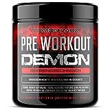 Pre Workout Demon - Pre Workout Booster mit Vitamin B12 was zur Verringerung von Müdigkeit &...