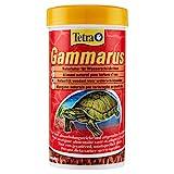 Tetra Gammarus, hochwertiges Naturfutter für Wasserschildkröten aus ganzen Bachflohkrebsen, 250 ml...