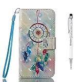 Grandoin iPhone 8 Plus Hülle,iPhone 7 Plus Hülle, Handyhülle im Brieftasche-Stil für Apple...