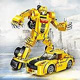 joylink Roboter Spielzeug, 2 in 1 lustiges kreatives Set Pädagogisches Spielzeug-Set der...