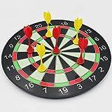 HLDBW Magnetic Dart Board Game 3 Gelbe und 3 Rote Magnet Darts Safe Kunststoff Dartscheiben Best...