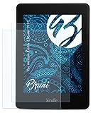 Bruni Schutzfolie kompatibel mit Amazn Kindl 7 Model 2014 Folie, glasklare Displayschutzfolie (2X)