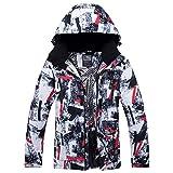 YABAISHI Herren Skijacke Snowboard-Jacke Winterkleidung windundurchlässige wasserdichte Breathable...