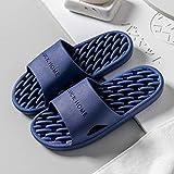WENHUA Massage Hausschuhe Schuhe,Fußmassage Bad rutschfeste Hausschuhe weiblich, Deep Blue_38 /...