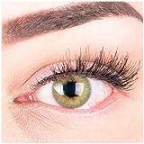 """Sehr stark deckende und natürliche grüne Kontaktlinsen SILIKON COMFORT NEUHEIT farbig """"Rose..."""