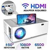 Beamer 6500 Lumen Full HD Native 1080p BOMAKER LED Videoprojektor 300 inch Display Zoom...