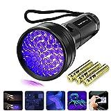 Vansky UV Schwarzlicht Taschenlampe mit 51 LEDs | Haustiere Urin-Detektor fr Eingetrocknete Flecken...