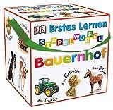 Dorling Kindersley Verlag Erstes Lernen Stapelwürfel. Bauernhof: 10 stabile Karton-Würfel mit...