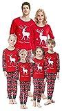 Weihnachts-Familien-Pyjama-Set, Weihnachtsmann-Hirsch, Nachtwäsche für die Familie, Jungen und...