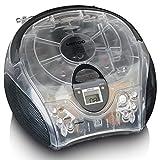 Lenco SCD-24 - CD-Player für Kinder - CD-Radio - Stereoanlage - Boombox - UKW Radiotuner - Titel...