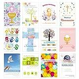 Edition Seidel Set 12 Kommunionskarten mit Umschlag - Glckwunschkarte zur Kommunion -...