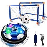 NEWYANG Air Power Fußball Set,Wiederaufladbar Innen&Außen Hover Ball ,Fussball Spielzeug mit Bunt...