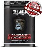 BOOSTER XXL - 500g - Pre-Workout Shake - ALPHATIER BEASTMODE Pump-Booster mit Koffein, L-Citrullin,...