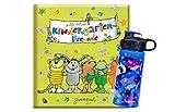 arsEditiion Meine Kindergarten-Freunde - Janosch + 1. Coole Trinkflasche, ideal für den...