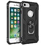 AFARER Hülle Kompatibel Mit iPhone 6 iPhone 6s iPhone 7 iPhone 8 Militärische Handyhülle Schwarz