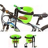 Kindersitz Fahrrad Vorne, Fahrradsitz Vorne Für Kinder Abnehmbar Fahrradkindersitz Vorne Mit Pedal...