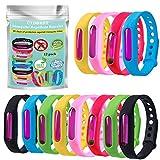 CIDBEST Mückenschutz Armband Anti Mosquito Bracelet Anti Mücken Repellent Armband 12 Stück...