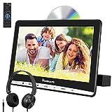 NAVISKAUTO 12' DVD Player Auto Slot In Tragbarer DVD Player Kopfstütz Monitor Bildschirm Memory TF...