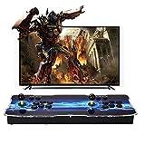 SeeKool 3D Pandora X Spielkonsole Home Arcade Konsole, 4 Spieler Video Spiel-Konsole mit 2200 Retro...