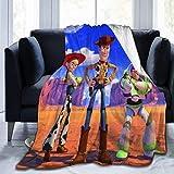 NR Toy Story Flanelldecke Superweiche und Bequeme Fuzzy warme Plsch-Mikrofaserdecke Geeignet fr...