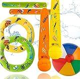 TK Gruppe Timo Klingler Schwimmring & Tauchring Set - mit Schwimmring, Tauchring, Wurfring -...