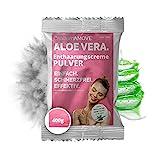 400g Capillum AMOVE Aloe Vera Einzel-Beutel [Extra Sanft] - Schmerzfreies Dusch Haarentfernungcreme...