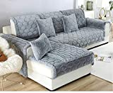 Ginsenget Sofaabdeckung Sofabezug 1/2/3/4 Sitzer Sesselbezug Sesselhusse Sofaüberwurf Voll umgeben...