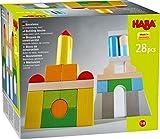 HABA 305163 - Bausteine – Grundpackung, bunt, mit 28 Steinen in unterschiedlichen Farben und...