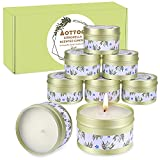 Aottom Citronella Kerze Outdoor,Citronella Zitrone Teelichter Kerze Draussen aus Natürliche...