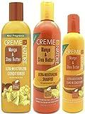 Creme of Nature Mango und Sheabutter Ultra Moisturizing Conditioner, Shampoo & Leave-In Conditioner...