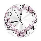 Skyhawk Systems Clock Number Silent Wanduhr, 10 Zoll Non Ticking Dekorative Wanduhr...