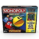 Monopoly Arcade Pac-Man Spiel Monopoly Brettspiel für Kinder ab 8 Jahren, inkl. Banking und Arcade...