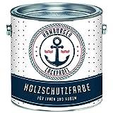 PU Holzschutzfarbe MATT Lichtgrau RAL 7035 Grau Hochwertige Wetterschutzfarbe Holzfarbe Holzlack -...