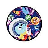 UOWEG Dart Brettspiele Dinosaur Toys Themed Doppelseitige Mit Sticky Balls Drinnen/Draußen,...