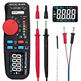 CAIJINJIN Multimeter Mini TRMS Dual-Mode-Multimeter AC/DC-Spannung Strom Widerstand Diodenkapazität...