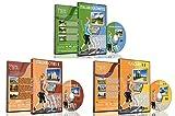 3 Disc Set Kombi Pack - Das Beste aus Italien Virtuelle Walks DVD Box Set für Indoor Walking,...