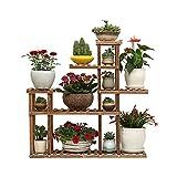LMX Blumentreppen Blumenständer Massivholz mehrschichtig stehend Indoor- und...
