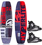Hyperlite Motive 134 Package Wakeboard mit Wakeboardbindung