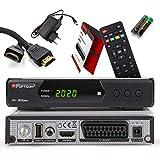 Opticum SBOX Plus HD Sat-Receiver - PVR Aufnahmefunktion Timeshift - Media-Player Full-HD...