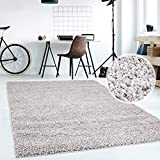 Hochflor Teppich   Shaggy Teppich fürs Wohnzimmer Modern & Flauschig   Läufer für Schlafzimmer,...