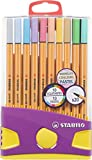 Fineliner - STABILO point 88 - ColorParade - 20er Pack - mit 20 verschiedenen Farben