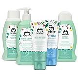 Amazon-Marke: Mama Bear Baby Pflege Set: Bad, Shampoo, Wundschutzcreme, l, Gesichts- und Krpercreme