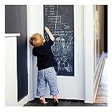 EVBEA Tafelfolie Selbstklebend Kreidetafel 43 cm x 200 cm Selbstklebende Schreiben Zeichnen Malen...