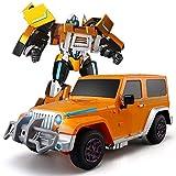 Zeyujie 10 Jahre alter Junge Geburtstagsparty Modell ABS Transformers Stunt-Auto-LKW Deformation...