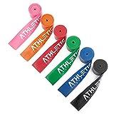 Floss Band + Tasche und bungsanleitung [2m] Flossing Band fr Physiotherapie, Triggerpunktbehandlung...
