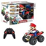 Carrera RC Mario Kart 8 Mario Quad │ Ferngesteuertes Auto ab 6 Jahren für drinnen & draußen │...