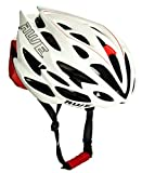 AWE AWESpeed In-Mould Helm Erwachsene Mnner Straen-Radsport 58-61cm Wei/rot