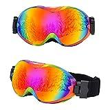 fenglei Sportbrille Sonnenbrille Erwachsene Sport Fahrradbrille Herren und Damen Radsportbrille...