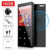 16 GB MP3-Player mit Bluetooth 4.2, Musik-Player Digital Audio Portable Lossless Sound Musik-Player...