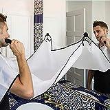 Bartschürze, Bart Schürze, Auffangtuch für Haare. Praktischer Helfer für ein sauberes...